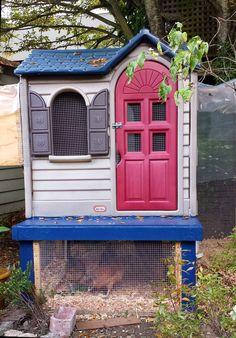 Pegeen's Urban Chicken Coop #urbanchickens