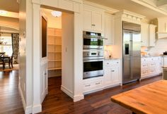 Hidden Pantry Room Behind Secret Door Secret Door in Kitchen to Pantry – StashVault