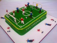 Pastel perfecto para amantes del fútbol #futbol