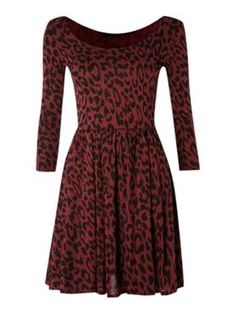 Therapy Animal waist jersey dress Multi-Coloured - House of Fraser