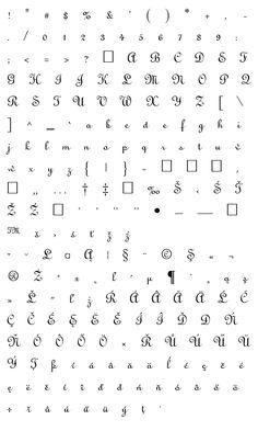 Mapa fontu Linus Math, Math Resources, Mathematics