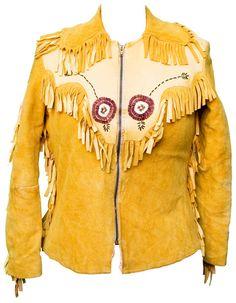 1950s Medium Jacket Coat Buckskin Leather Suede by TopangaHiddenT
