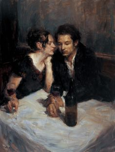 Untitled by Ron Hicks on Curiator, the world's biggest collaborative art collection. Art Of Love, Classic Paintings, Oil Painters, Classical Art, Couple Art, Renaissance Art, Art World, Figurative Art, Art Inspo