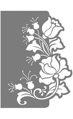 Stencil Patterns, Stencil Designs, Kirigami, Stencil Painting, Fabric Painting, Inkscape Tutorials, Gravure Laser, Diy And Crafts, Paper Crafts