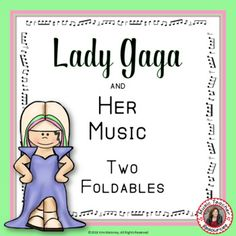 Music Lessons for Kids - Lady Gaga: Music Listening and Research interactive journal pages  #musiceducation