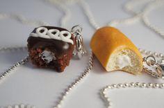Mejor amigo collar conjunto miniatura por Sweetnsavorytrinkets