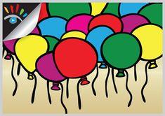 Ballonnen (abstract). Een ballon (Frans: ballon = bal) is een met een gas, lucht of water gevulde huls.