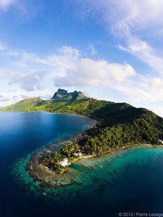 Tahiti. Where one of my grandmothers came from. I have no idea why she and her family would leave this place.