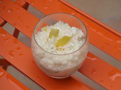Riz au lait de coco et citron jaune (riz au lait) vegan #vegetalien #dessertvegetalien