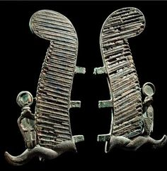 Aboutaams present: Egyptian Bronze Headdress of Osiris.