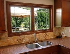 grilles in casement windows in kitchen - Google Search