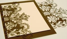Laser Cut Lace Card