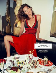 Christy Turlington for Jason Wu ad campaign #fashion #model
