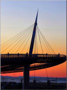 Pescara - il ponte del mare Abruzzo Italy