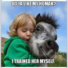 I like your human