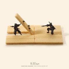 Miniature Calendar / Tanaka Tatsuya