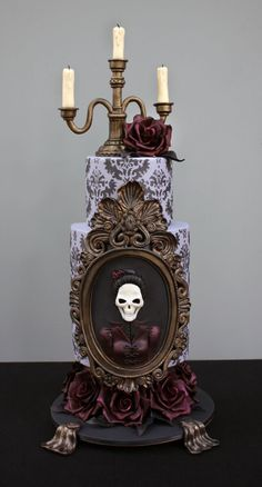 From the Penny Dreadful Cake Collaboration, by Veronique de Groot