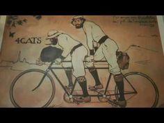 4 Cats - Barcelona Spain Este video es un decrivion del cafe se llama Los Cuatro Gatos en Espana.