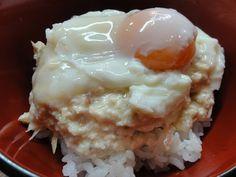 タモさんの豆腐丼