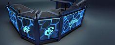 Portable DJ Booth | ... ™ | Custom & Portable DJ Stands, DJ Booths, DJ Desks & Tables