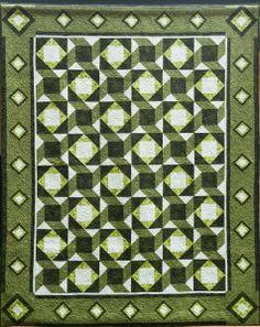 Monochromatic Colours in Quilt Design