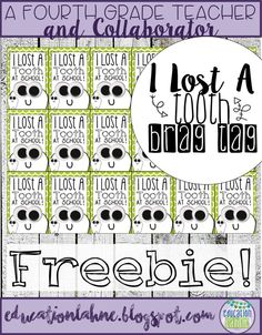 I Lost a Tooth at School Free Brag Tag! Grab this freebie to celebrate when your… Kindergarten Anchor Charts, Kindergarten Classroom, Behavior Management, Classroom Management, Classroom Economy, Superhero Classroom, Classroom Themes, Tooth Chart, Brag Tags