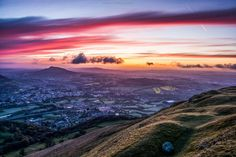 Absolutely spectacular photo from Glenn Gameson-Burrows taken from the Blorenge!
