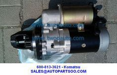 KOMATSU STARTER MOTOR 600-813-4920, 600-813-7521, 600-813-7620,600-813-3621 of autopartsoo Starter Motor, Motors