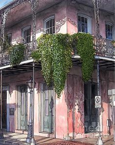 """New Orleans Balcony"""