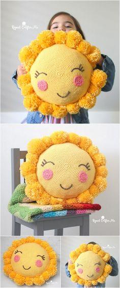 Greatest Fashionable Designs Of Crochet Ideas Crochet Crafts, Yarn Crafts, Crochet Toys, Crochet Ideas, Crochet Projects, Love Crochet, Crochet Granny, Learn To Crochet, Crochet For Kids