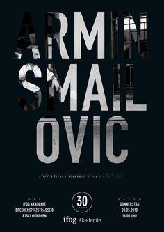 Starfotograf Armin Smailovic | Portrait eines Fotografen Star Wars, Armin, Typo, Calm, Events, Portrait, Artwork, Poster, Design
