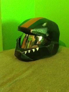 Halo 2 ODST fiberglass helmet