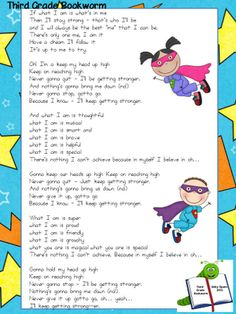 "Classroom Freebies Too: Back to School: ""What I Am"" (A Song FREEBIE!)"