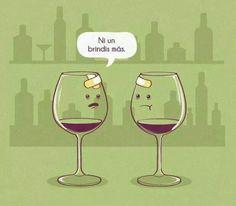wine glasses #compartirvideos #imagenes+divertidas
