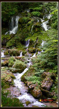 Steiermark, Österreich, Mixnitz wildbach Nikon Coolpix L310, panorama