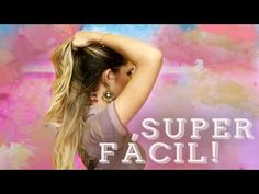 5 PENTEADOS FÁCEIS DE FAZER SOZINHA - YouTube Hair Academy, Hair And Nails, Hair Beauty, Hairstyle, Youtube, Makeup, 70s Hairstyles, Casual Hairstyles, Easy To Do Hairstyles