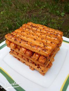 Sajtos rudacskák | Nassolda Nasa, Waffles, Lime, Bread, Breakfast, Food, Morning Coffee, Lima, Meal