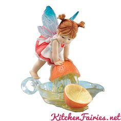 Orange Squeeze Fairie - From Series Twenty of the My Little Kitchen Fairies collection