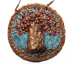 Pendant by MONICA ROTTA   Polymer Clay Planet