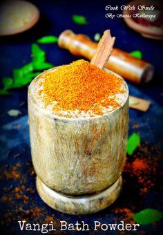 VANGIBATH POWDER RECIPE / HOMEMADE VANGI BATH MASALA RECIPE #spice powder #masala