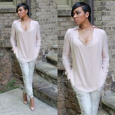Monica Brown one side crooped Haircut Short Shaved Hairstyles, Black Women Short Hairstyles, Pixie Styles, Short Styles, Long Hair Styles, Monica Hairstyles, Wig Hairstyles, Black Shorts Fashion, Brown Fashion