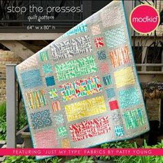 Stop The Presses! Quilt Pattern