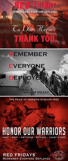 Remember Everyone Deployed, Navy Air Force, Red Friday, Custom Choppers, Army & Navy, Coast Guard, Adults Only, Marines, Future