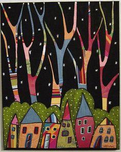 karla gerard collage houses