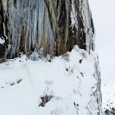 It took more than four hours of skinning through rock gardens and unpacked snow for Martinello to reach the remote cliffs of North Joffre Creek in southwest British Columbia. There he captured professional climber Tim Emmett on a first ascent of a 210-foot route during Emmetts first visit to the area. When you get a cold spell you want to go out and ice-climb but the conditions made it a lot more challenging says the photographer who lives in nearby Squamish. It was definitely a day we had…