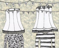 lulu and the lampshades illustration by sarah matthews @Sarah Chintomby Chintomby matthews
