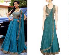 Amrita Rao in Ridhima Bhasin #perniaspopupshop #shopnow #celebritycloset #designer #clothing #accessories