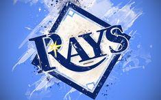 Baseball 5 Year Old Refferal: 8453756651 Bay Sports, Sports Teams, Tampa Bay Rays Baseball, Rays Logo, Baseball Wallpaper, Baseball League, Grunge Art, Buster Posey, Sports Wallpapers