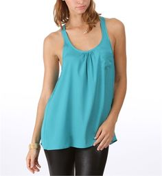 Light Green Loose Fit Top
