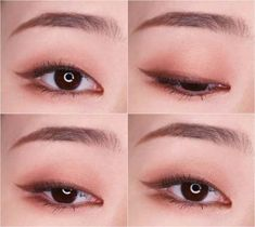 5 Super Cute Korean Eyeliner Hacks Nomakenolife The Best Korean Beauty Trends How To Do Puppy Liner Orange Blush Korean Makeup Vs North American Makeup Style Korea Canada Pin By Zei Park On Inspirations In 2019 Korean Eye Makeup I Hope Diverse Beauty V Korean Makeup Look, Korean Makeup Tips, Asian Eye Makeup, Korean Makeup Tutorials, Natural Eye Makeup, Natural Eyeliner, Monolid Eyes, Eyeliner Makeup, Asian Makeup